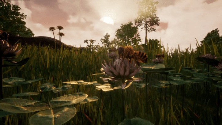 Bee Simulator—An Educational Trip Through The Life Of An Ordinary Honey Bee—Will Be Released By End Of Year
