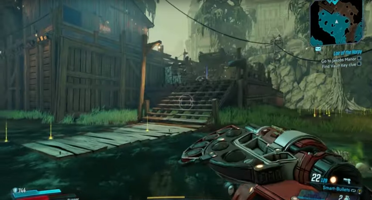 Some New Gameplay Footage Has Surfaced Of Borderlands 3, Focuses On The Vault Hunter Moze