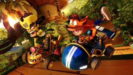 Crash Team Racing Speeds Into The New Neon Circus Grand Prix This Friday, Fire The Cannon And Let The Circus Chaos Commence
