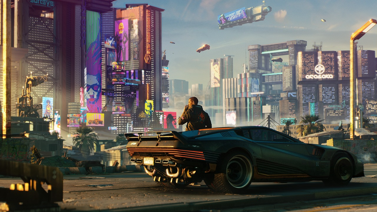 European PlayStation Store Reveals The File Size For CD Projekt Red's Cyberpunk 2077