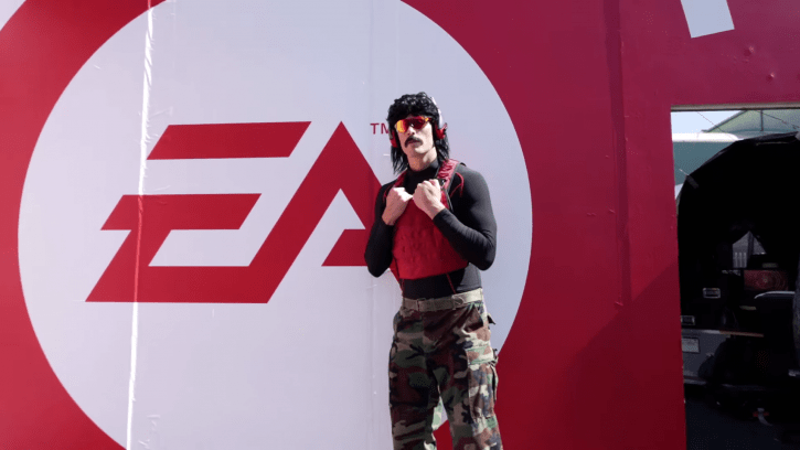 Battle Royale Twitch Streamer Dr DisRespect Banned From Twitch For Filming Inside Of A Bathroom At E3