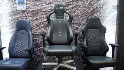EPIC Mercedes-AMG Petronas Motorsport From Noblechairs Gets You Closer To The Mercedes Brand For Under $500