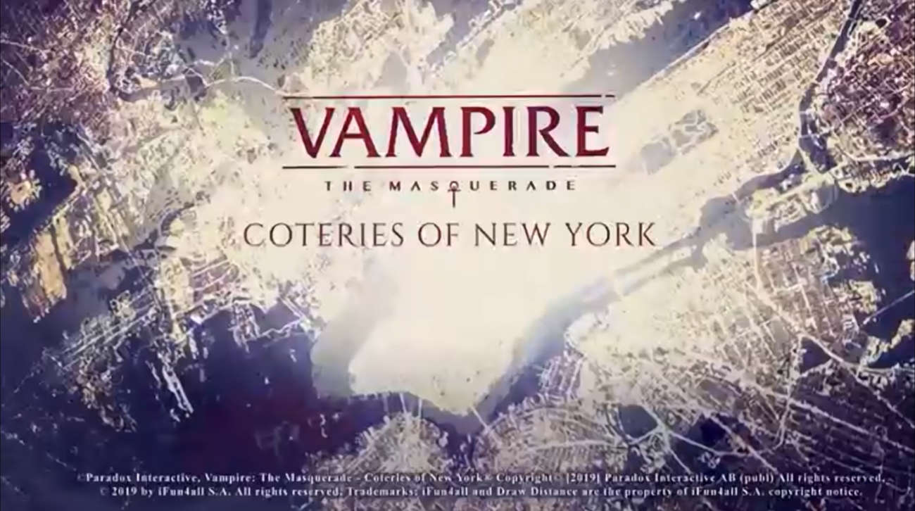 Vampire: The Masquerade — Coteries of New York Heading To PC And Switch This Year