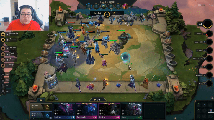 League Of Legends Streamer Scarra Shares New Game Mode Teamfight Tactics Gameplay