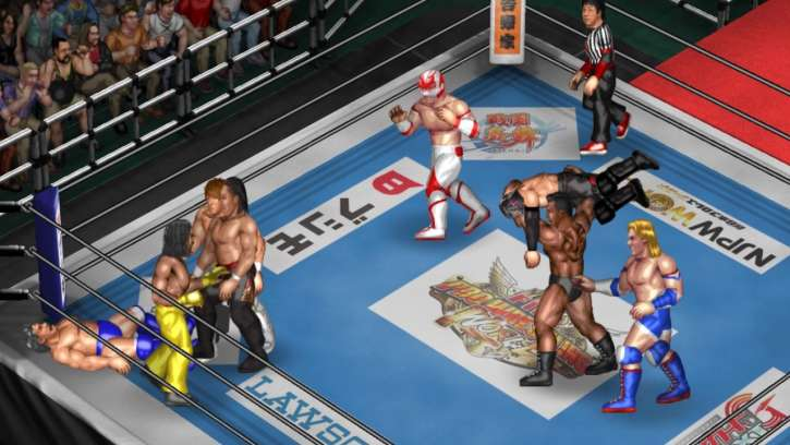 Fire Pro Wrestling World Gets New Japan Pro Wrestling DLC Which Is Available Now