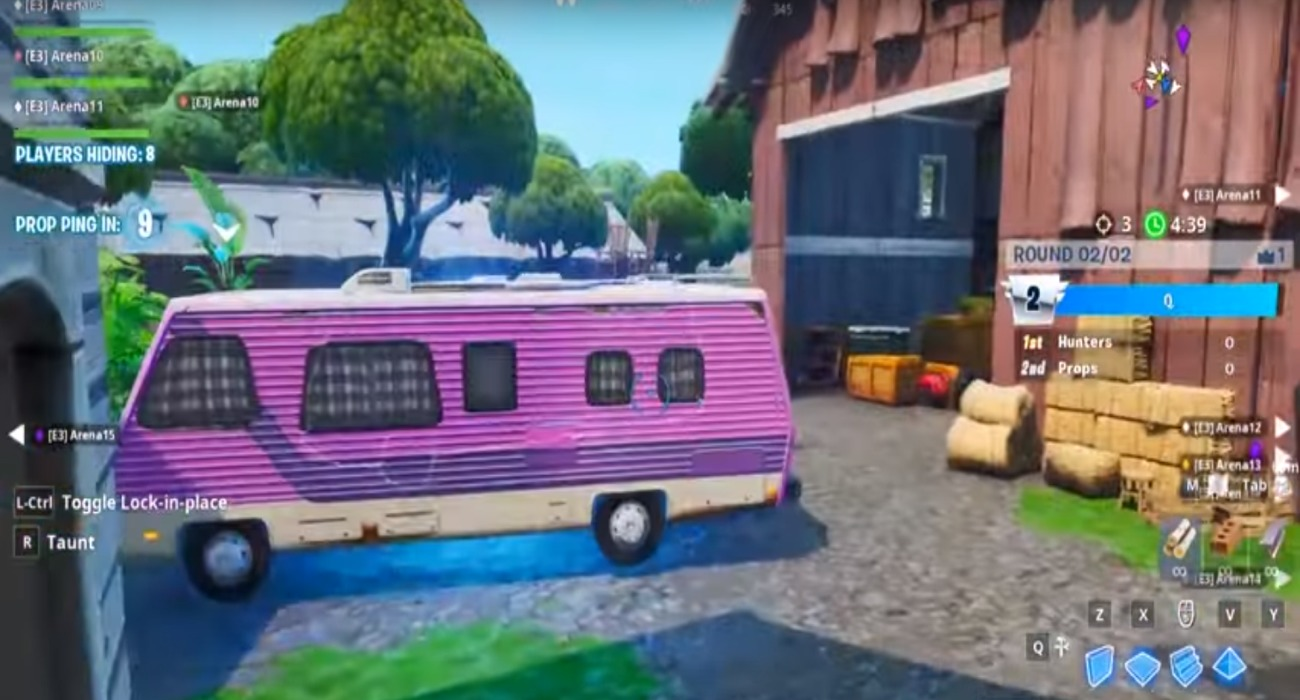 Fortnite Is Adding A New Prop Hunt Mode That Will Have An Interesting Twist