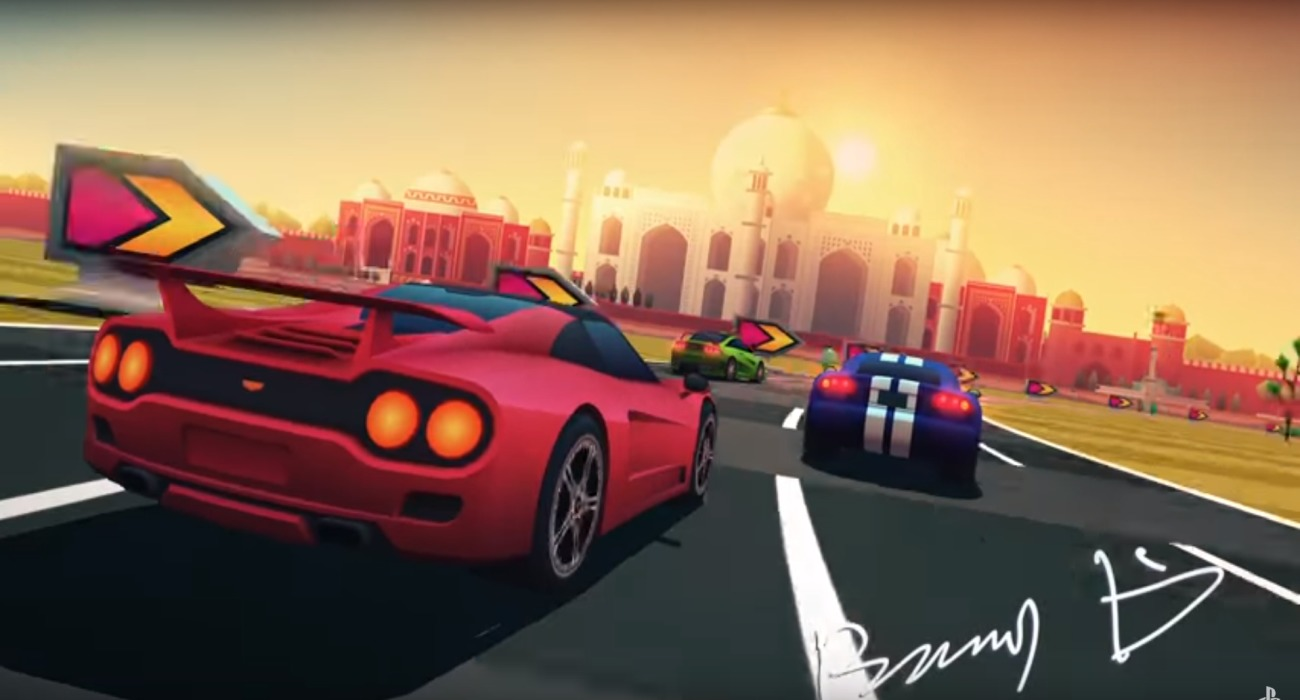 The Fun Racer Horizon Chase Turbo Will Be Free In July For PlayStation Plus Members