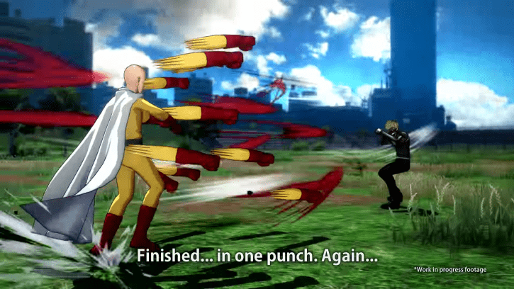 One Punch Man: A Hero Nobody Knows, New Fighting Game Is