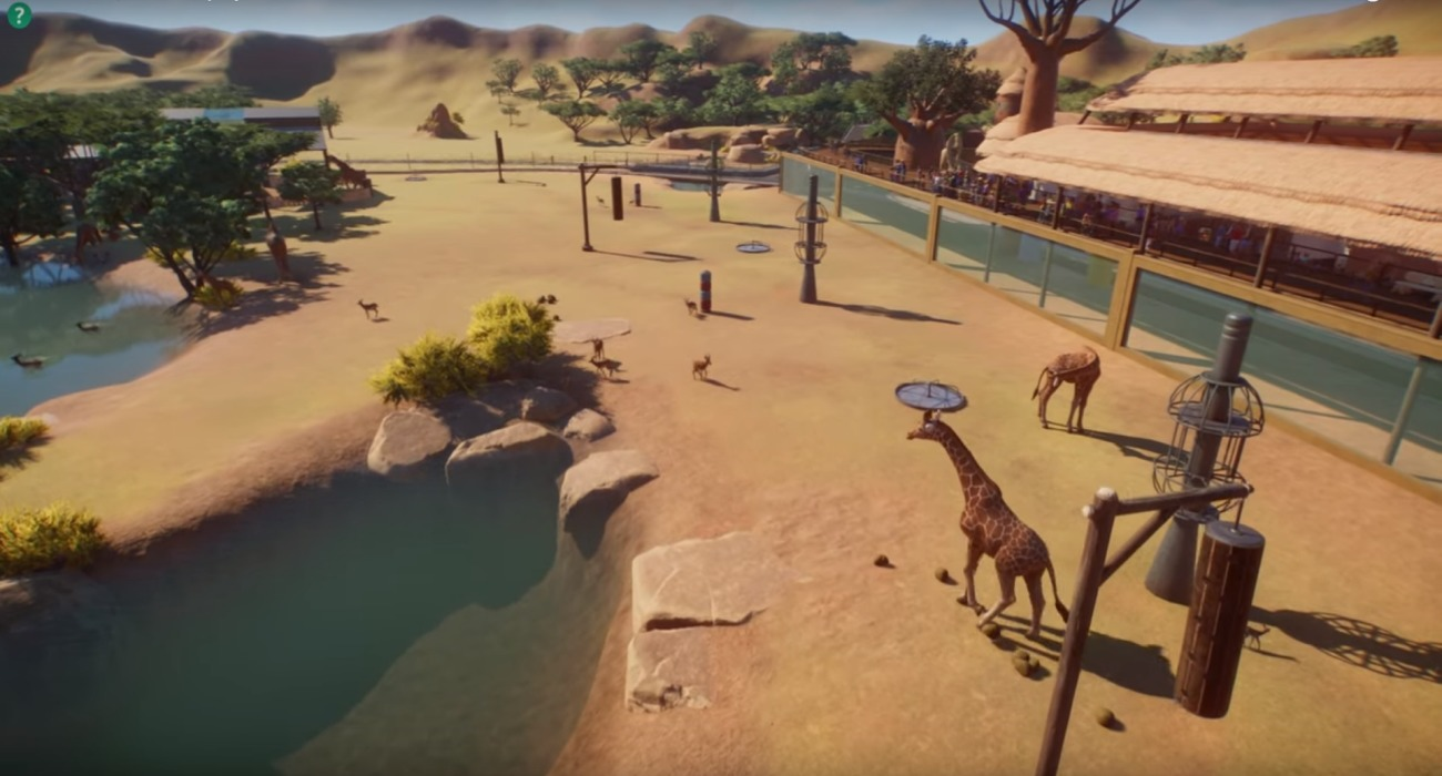 E3 Gameplay Footage Of Planet Zoo Shows Off Authentic Animal Behavior And Amazing Habitats