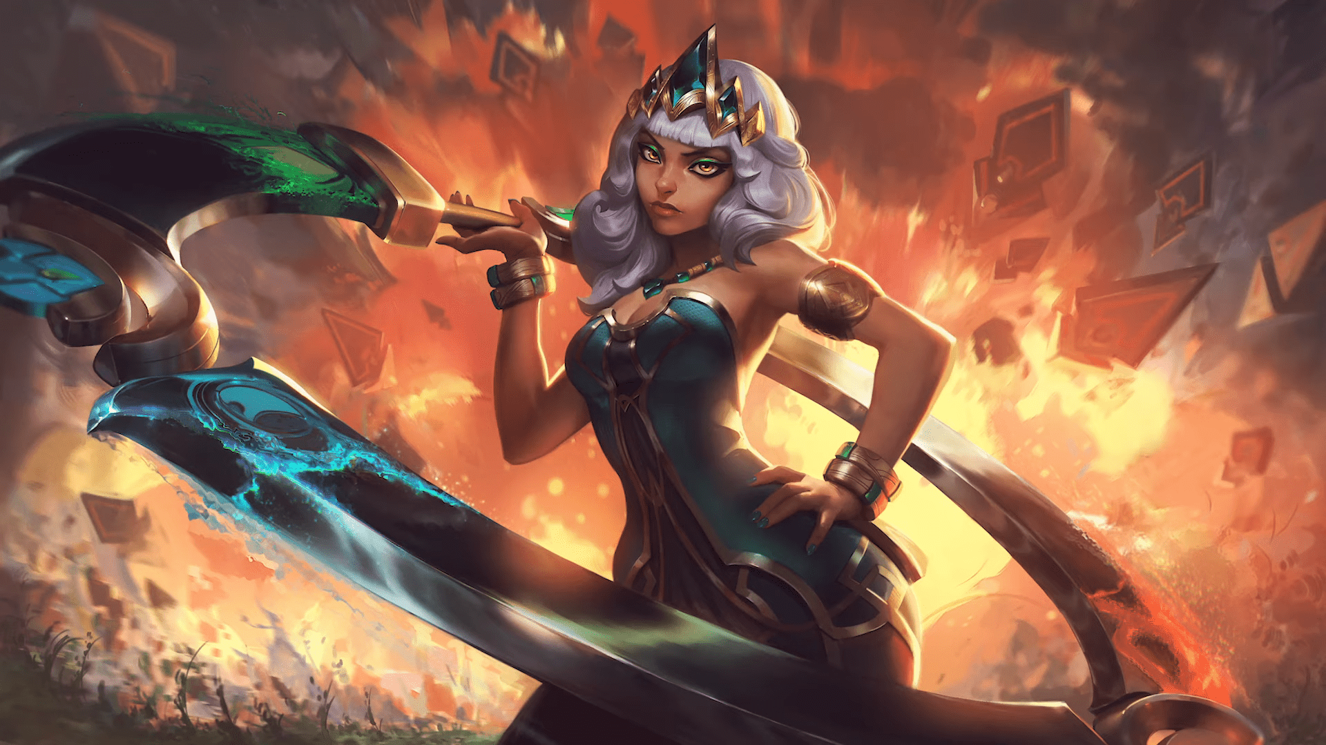 New League Of Legends Champion, Qiyana, Struggles With Less Than 40% Win Rate Since Release