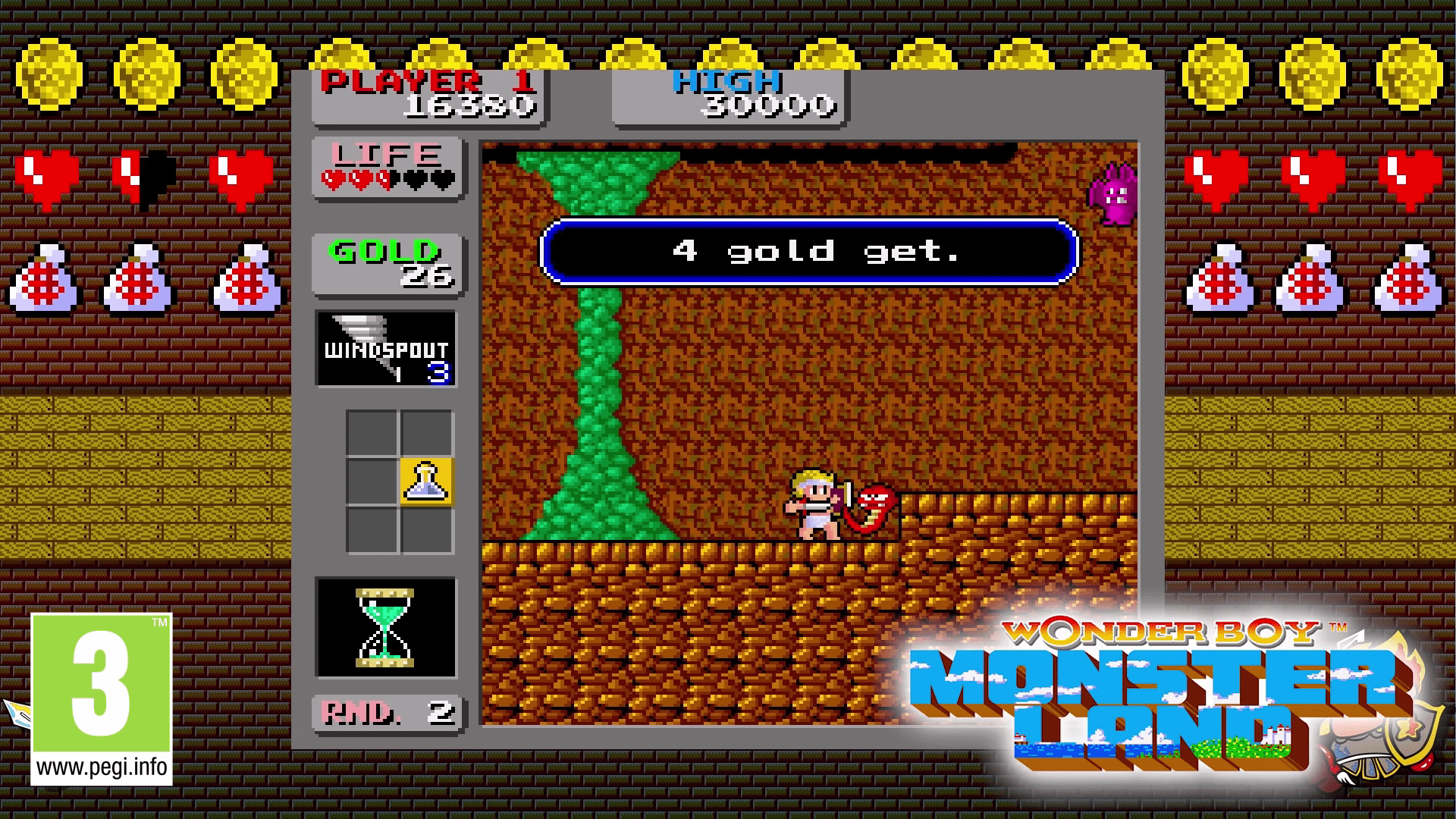 New Release For Nintendo Switch, SEGA AGES Wonder Boy: Monster Land, Now Available For Purchase