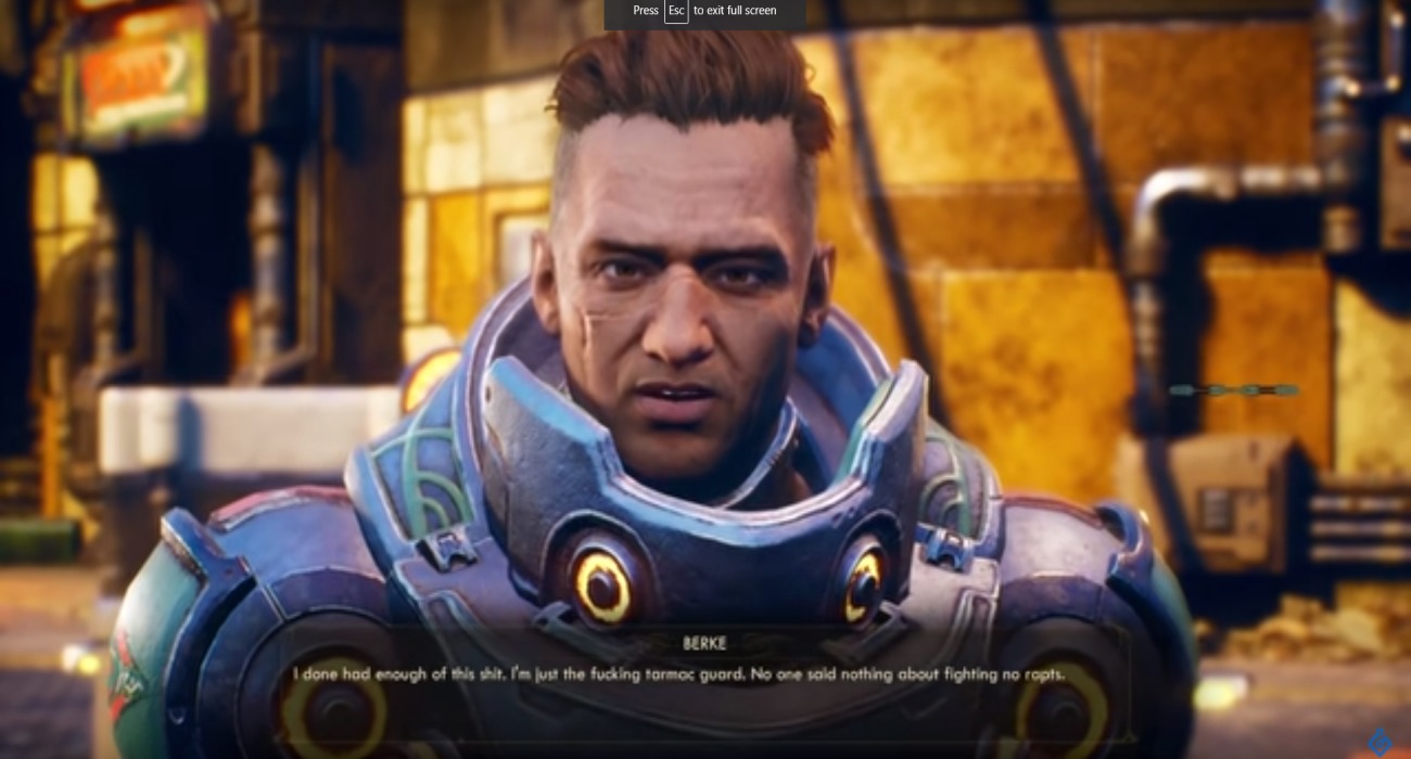 Over 20 Minutes Of Gameplay Footage Has Come Out Showcasing The Outer Worlds
