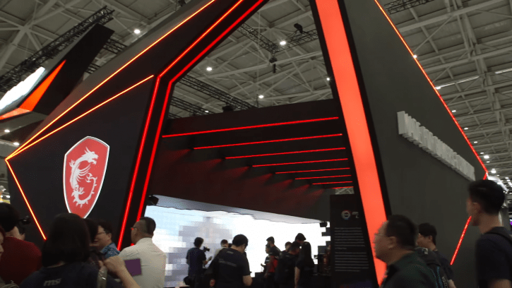 MSI Show Off New Face-Recognizing Gaming Monitor And More At Computex 2019