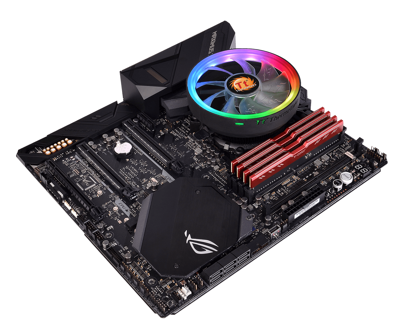 Thermaltake Brings Upgraded CPU Cooler To The Lower-End Spectrum; New UX100 ARGB Features RGB Lighting