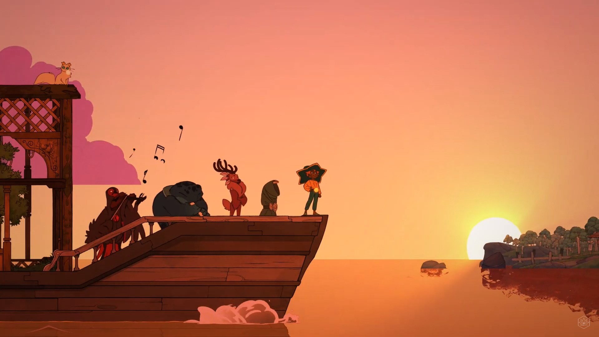 Spiritfarer – An Unexpected Beautiful Game Revealed During E3, Similar To Animal Crossing With A Magnificent Story
