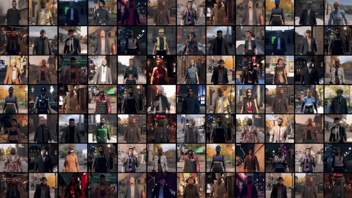 Watch Dogs Legion Reportedly Has Over 9 Million Playable Characters