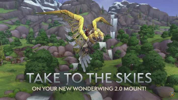 New Flying Mount Available to World Of Warcraft Players Who Complete Battle For Azeroth Pathfinder, Part 2