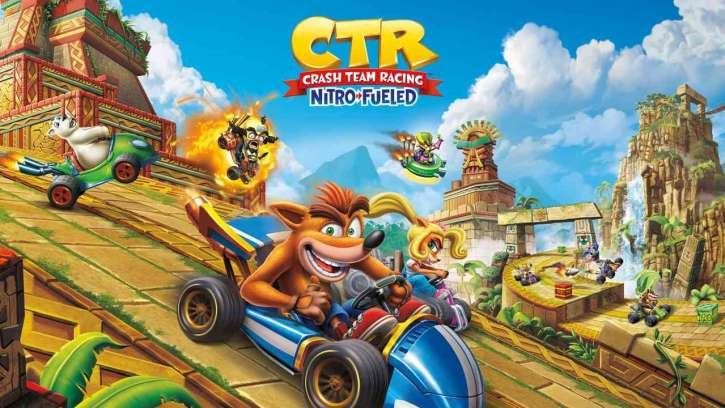 Crash Team Racing Nitro Fueled Bursts Onto Consoles, Along With A Delicious Contest