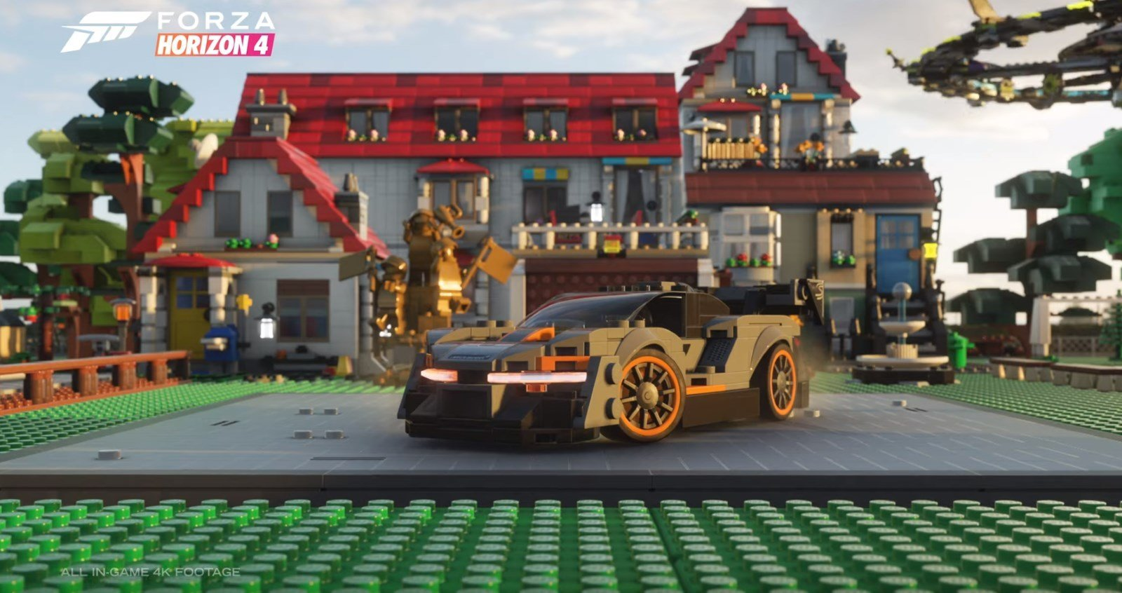 Forza Horizon 4 Introduces A LEGO Expansion Bringing Plastic Brick Racing to The Finish Lines At E3