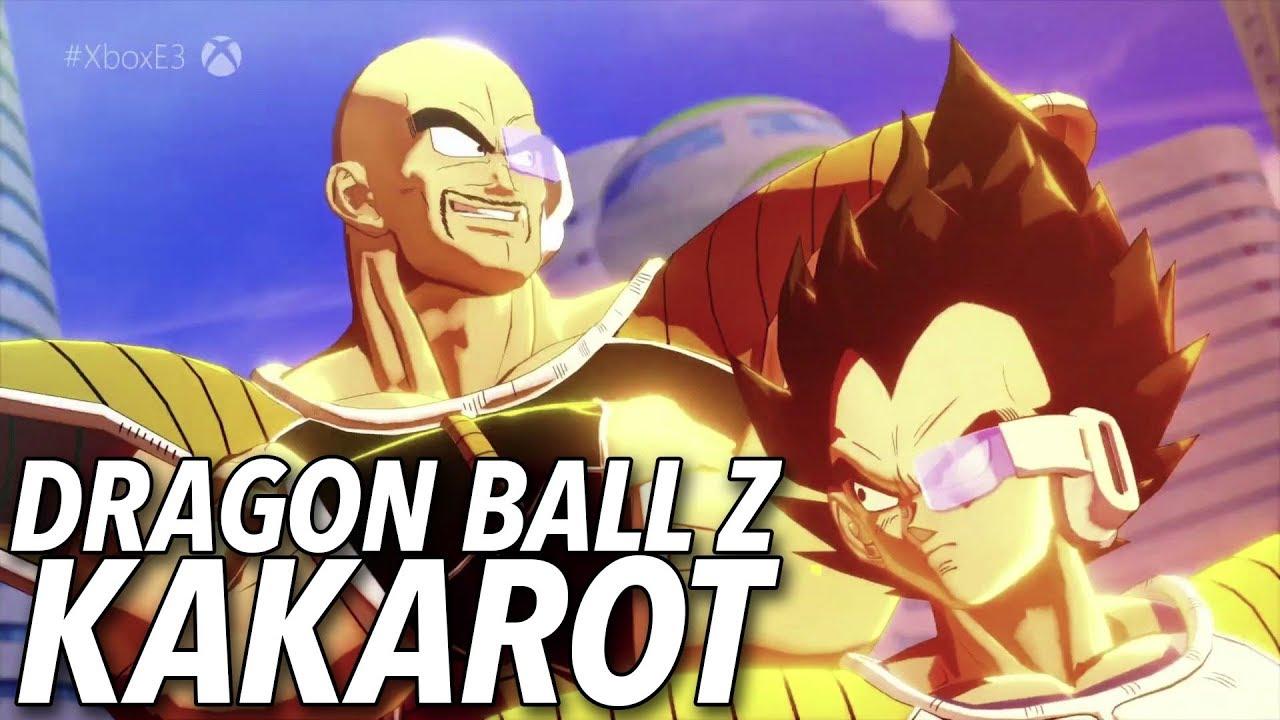 Dragon Ball Z: Kakarot Revealed At E3, New Action RPG Title For The Dragon Ball Z Franchise