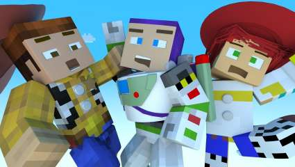 Minecraft Adds Keanu Reeves' Skin Alongside The Toy Story DLC Pack