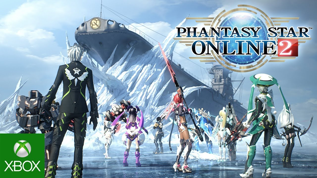Phantasy Star Online 2 Coming Soon To Xbox One, Official Reveal At E3 2019