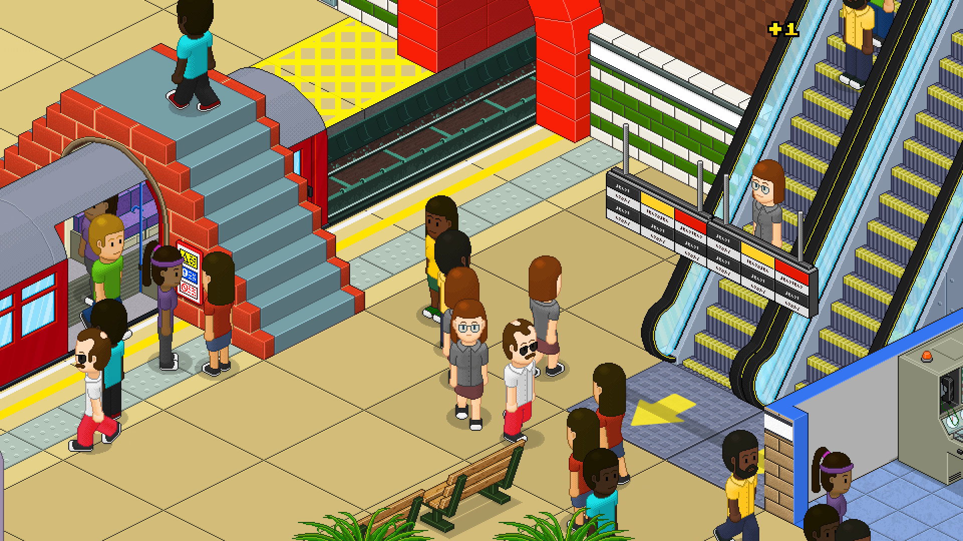 Overcrowd Released, Train Station Design Simulator That Will Change The Way You See The Transit System