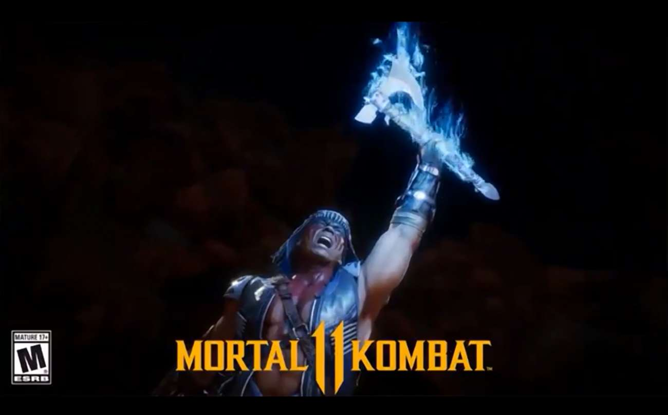 Creator Ed Boon Teases A Glimpse Of The DLC Character Nightwolf For MK11 Via Twitter