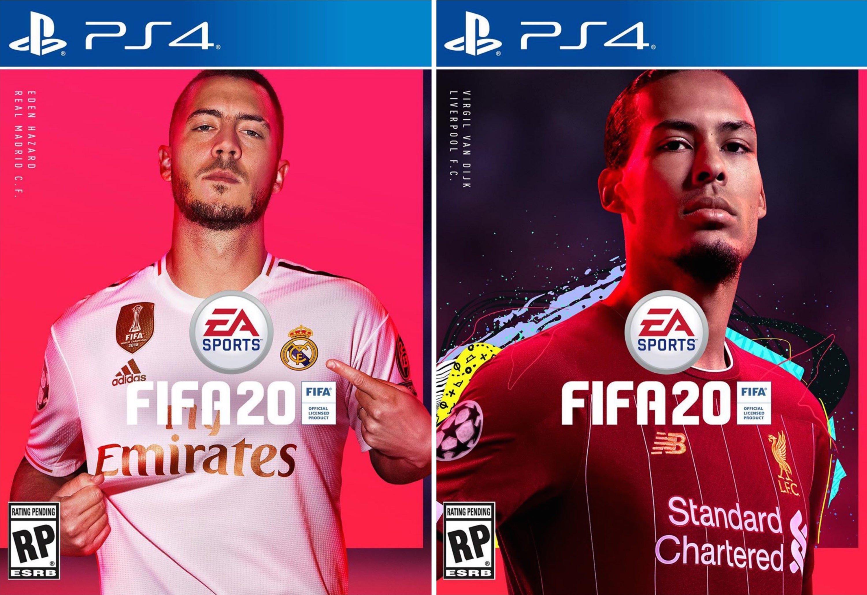 FIFA 20 Cover Stars: It's Official, Real Madrid's Eden Hazard And Liverpool's Virgil van Djik