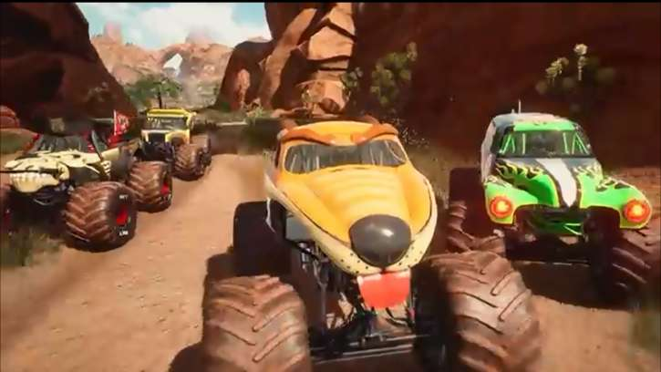 A Launch Trailer Was Just Released For Monster Jam Steel Titans; The First Update Is Now Available