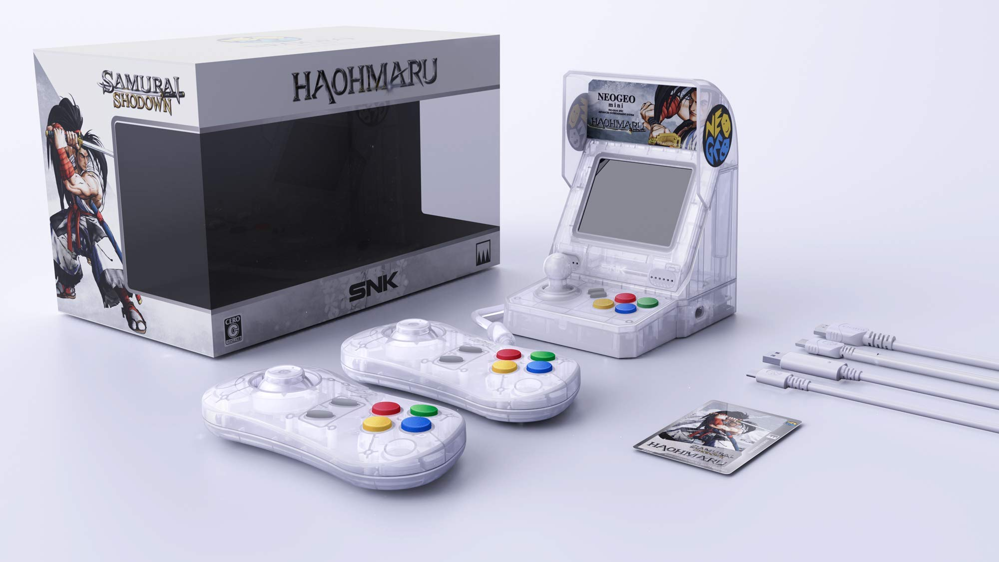 Limited Edition Samurai Shodown Themed Mini Consoles Back Up For Preorder