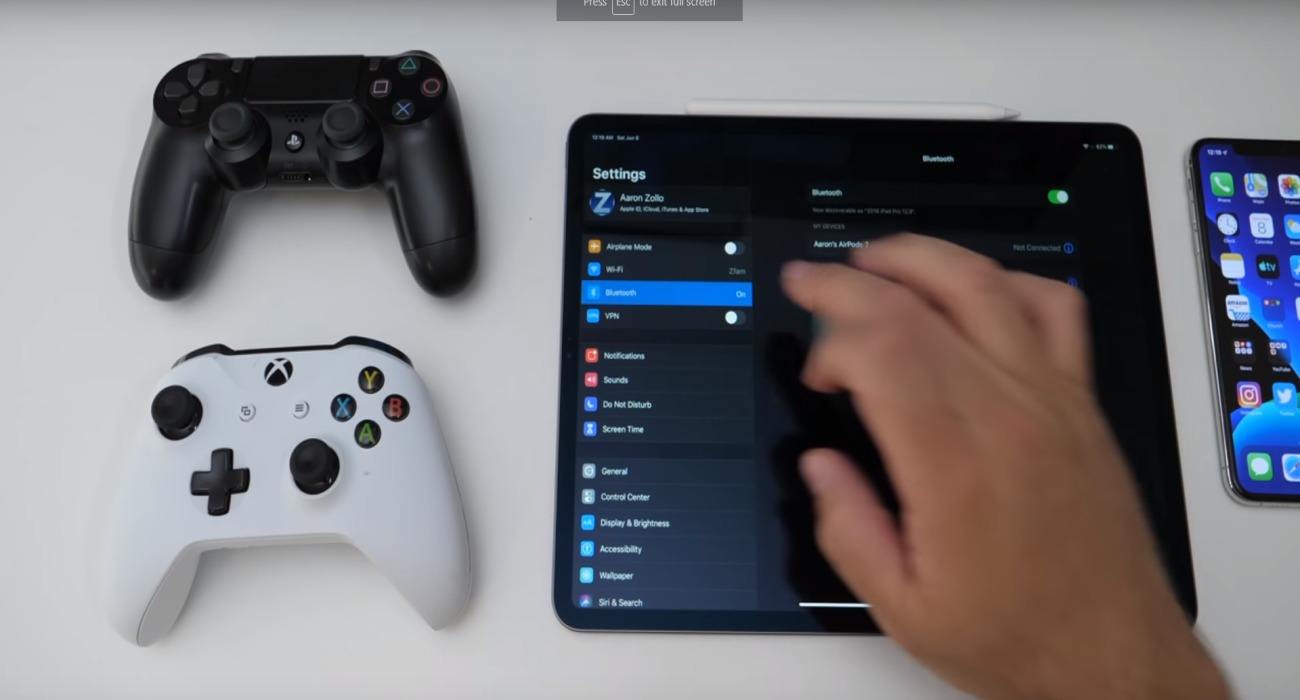 Apple Is Making iPhones and iPads Compatible With Xbox One And PlayStation 4 Controllers Thanks To Upcoming iOS 13 Update