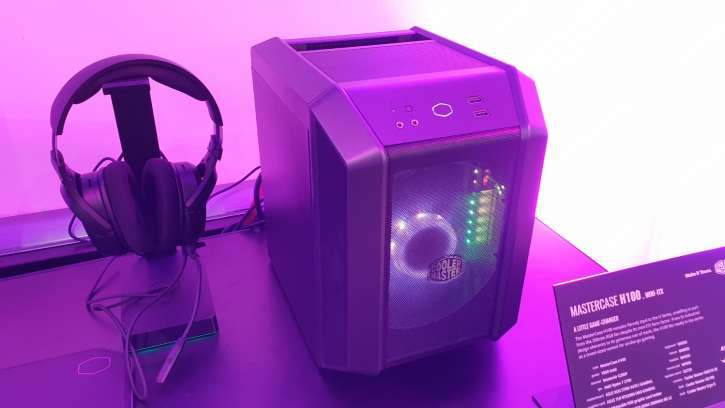 Cooler Master MasterCase H100 Is Finally Here And Sports A Minimalistic Design With  200mm RGB Fan