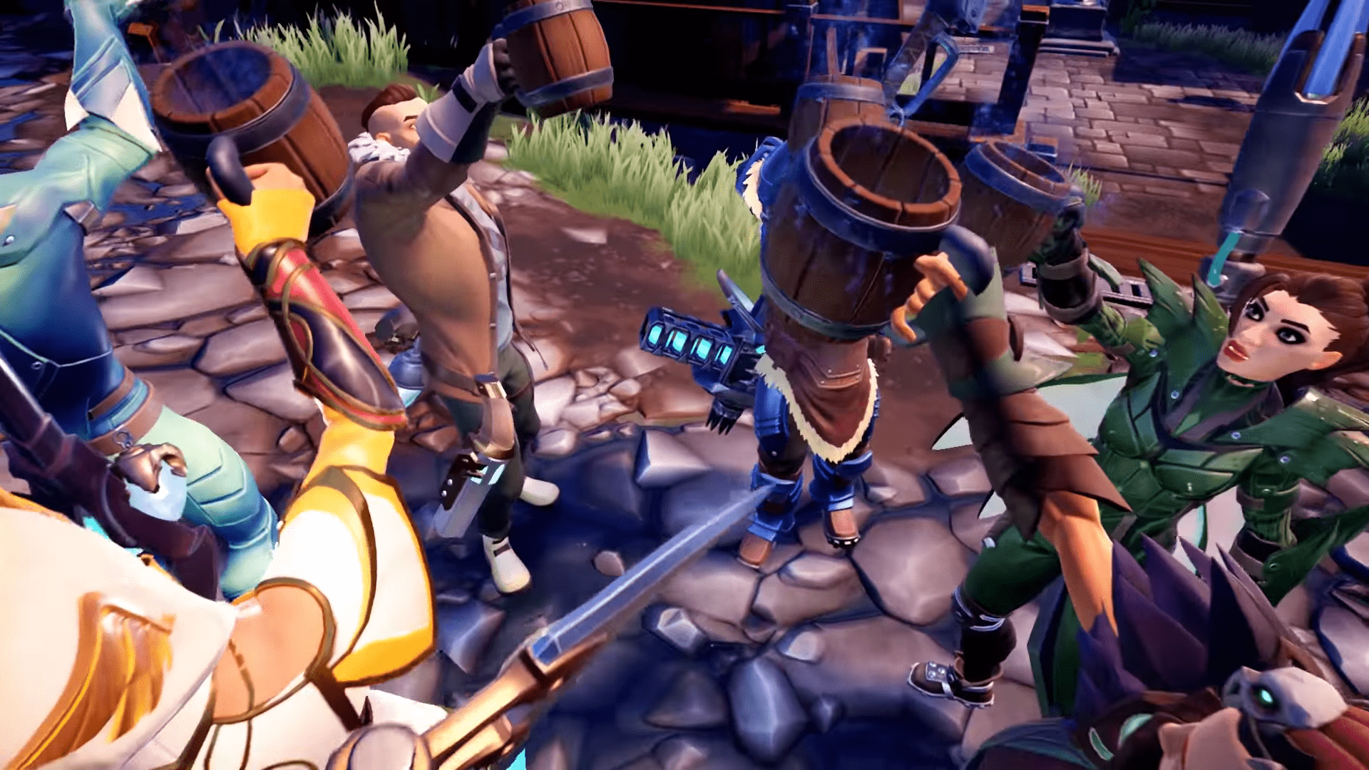 New Pirate Update For Dauntless Also Comes With Multiplayer Monster
