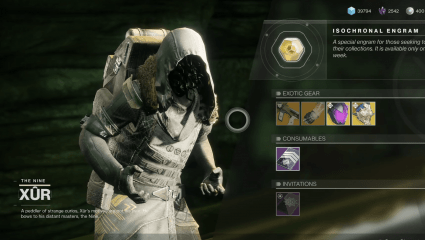 Xur Is Back Yet Again, Peddling New Exotic Gear In Destiny 2 On July 5, 2019