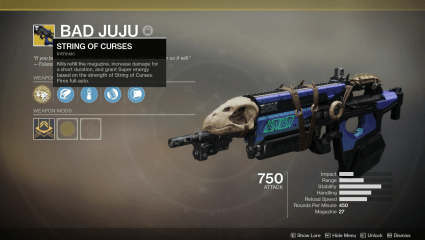 Bad Juju Exotic Pulse Rifle, Full Quest Walkthrough For Destiny 2 Season Seven