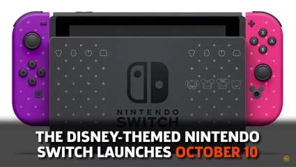 It Looks Like The Disney Themed Nintendo Switch May Only Be Available In Japan For The Time Being