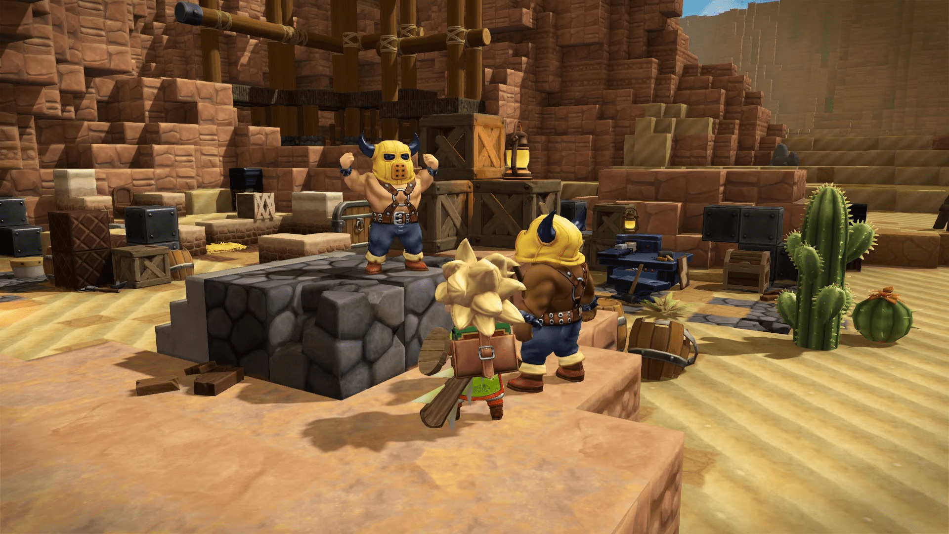 Minecraft Style Dragon Quest Builders 2 Comes Out Today For Playstation 4 And Nintendo Switch Happy Gamer