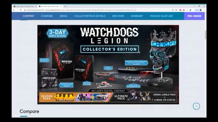 Pre-Orders Are Live For Watch Dogs: Legion; Collector's Edition Includes An Epic Skull With LED Lights