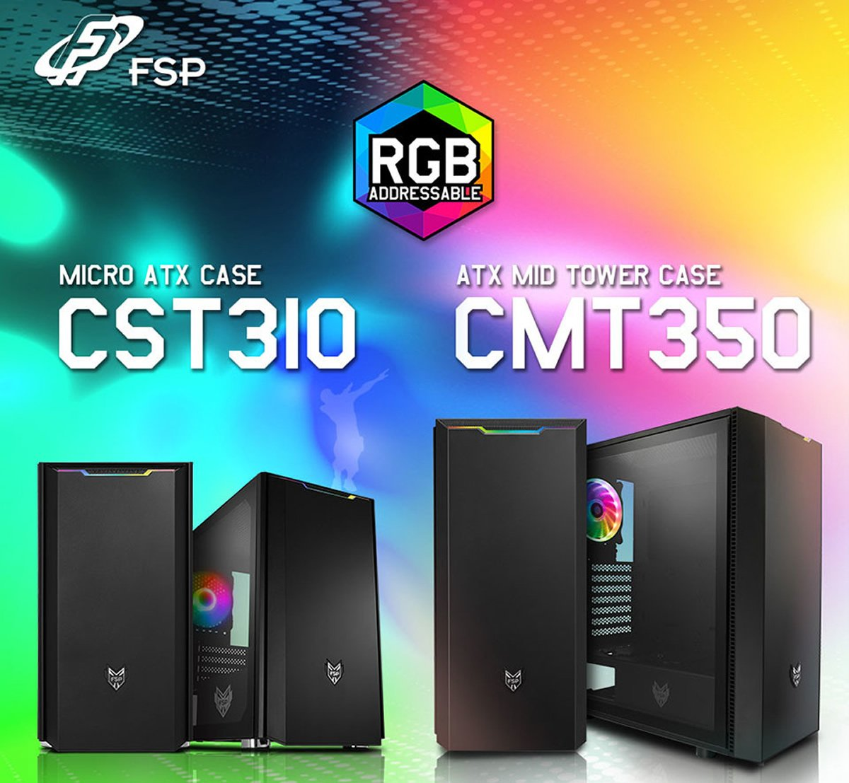 Meet The New FSP CMT350, CST310, and CST311 Cases With SPCC Steel Frame And Clear Side Panels To Showcase Your Rig