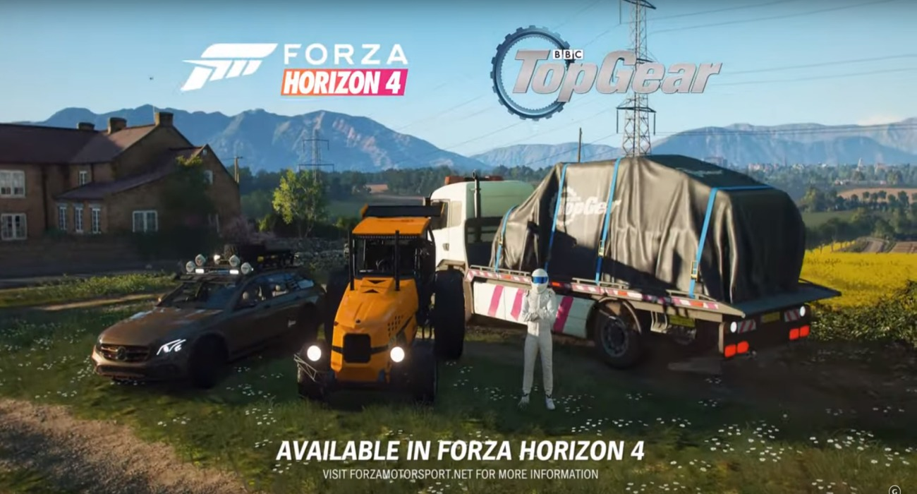 Top Gear DLC Has Come To Forza Horizon 4; A Trailer Announcement Shows Off The New Cars That Will Be Included