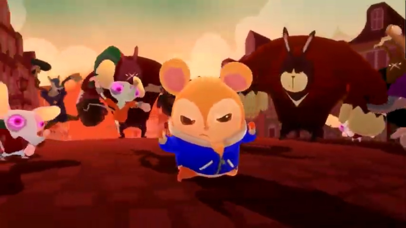 Kung-Fu Hamster Brings Justice To The Streets In New Game: Hamsterdam: Paws Of Justice