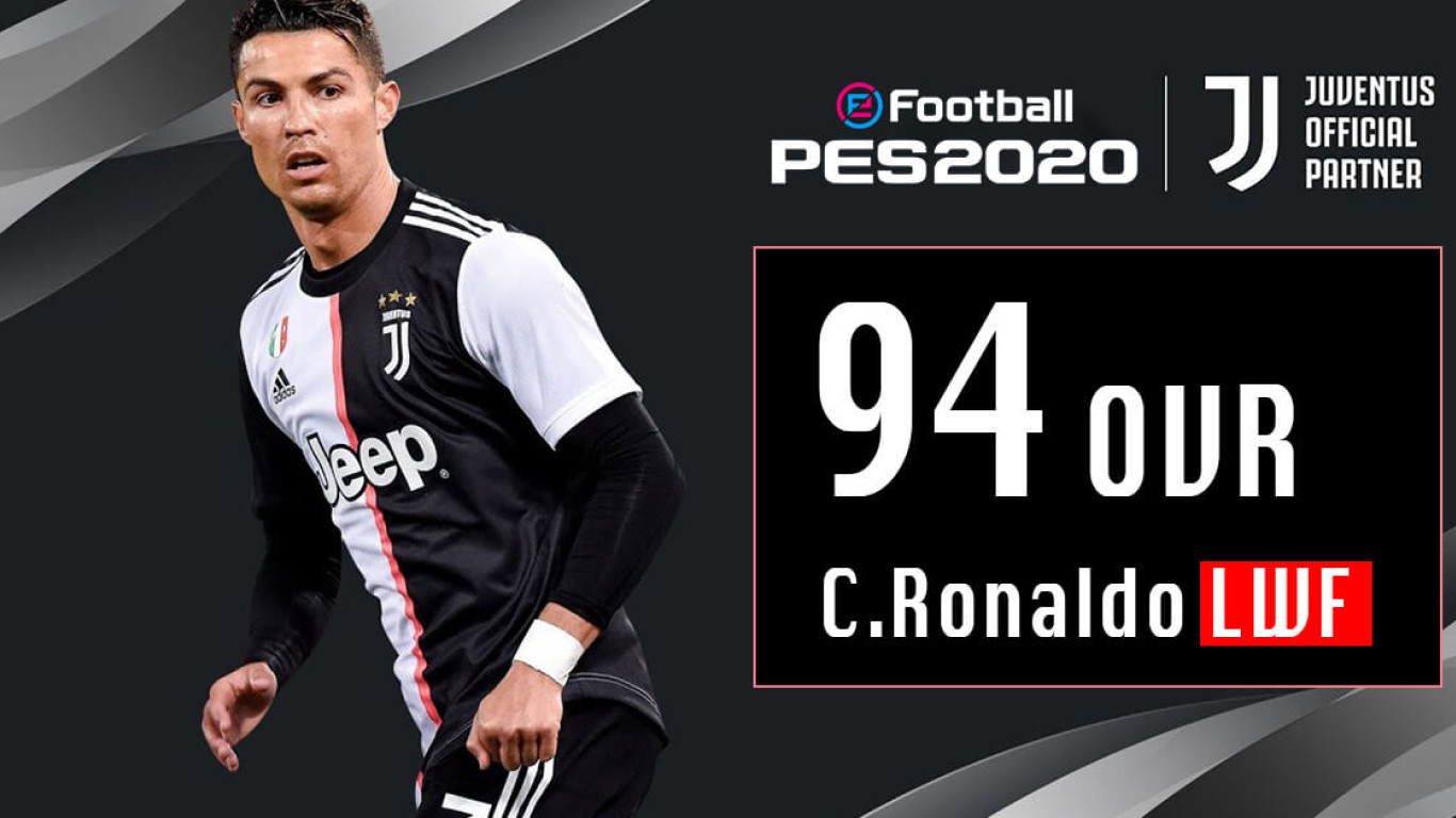 eFootball PES2020: Konami Reveals Official Rating For Ronaldo Including The Detailed Stats