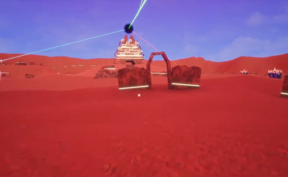 Short And Weird Survival Game, LSD: Lost Sandy Desert Takes Players To A Trippy Desert-Like Alien Planet