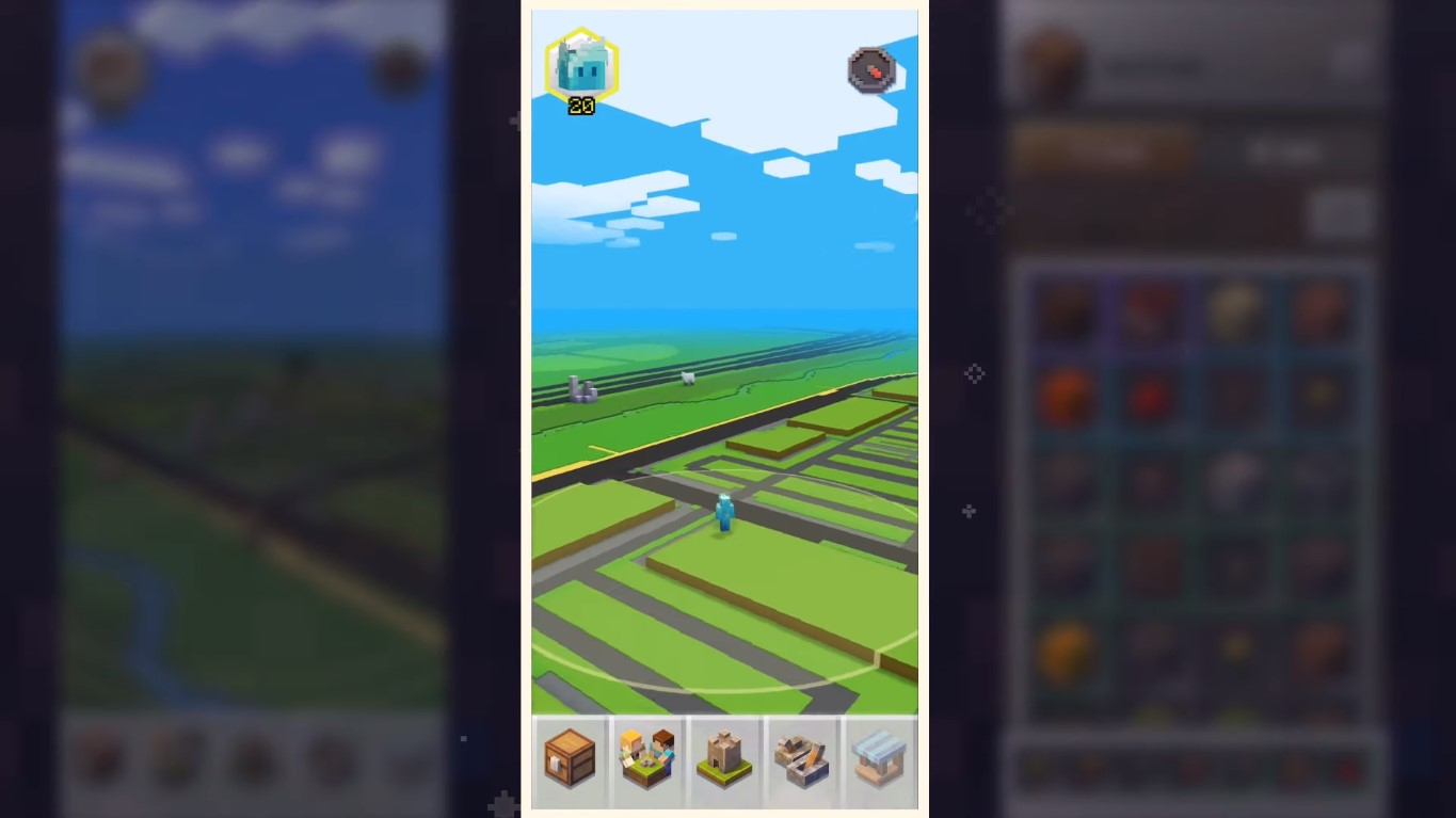 Development For Pokemon GO-Styled, Minecraft Earth Augmented Reality Game, Now Underway!