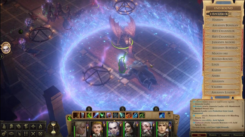Turn-Based MOD For RPG Game, Pathfinder Kingmaker Now