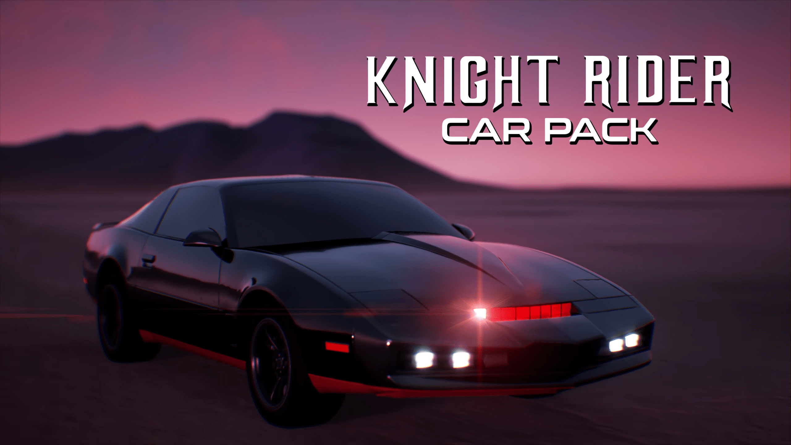 Rocket League's Radical Summer Releases Knight Rider Car Pack DLC For Download Next Week