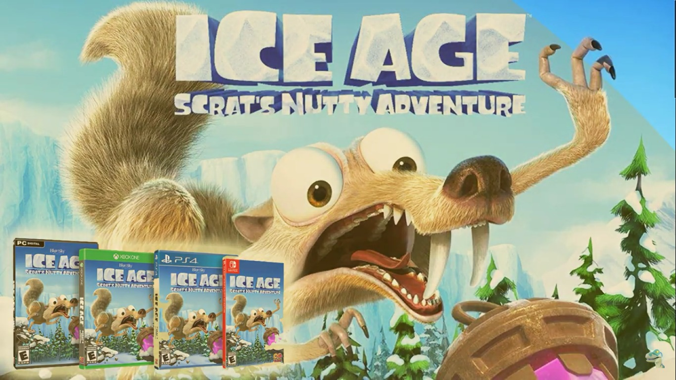 Everyone's Favorite Acorn -Loving Squirrel Is Back This Fall In Ice Age: Scrat's Nutty Adventure