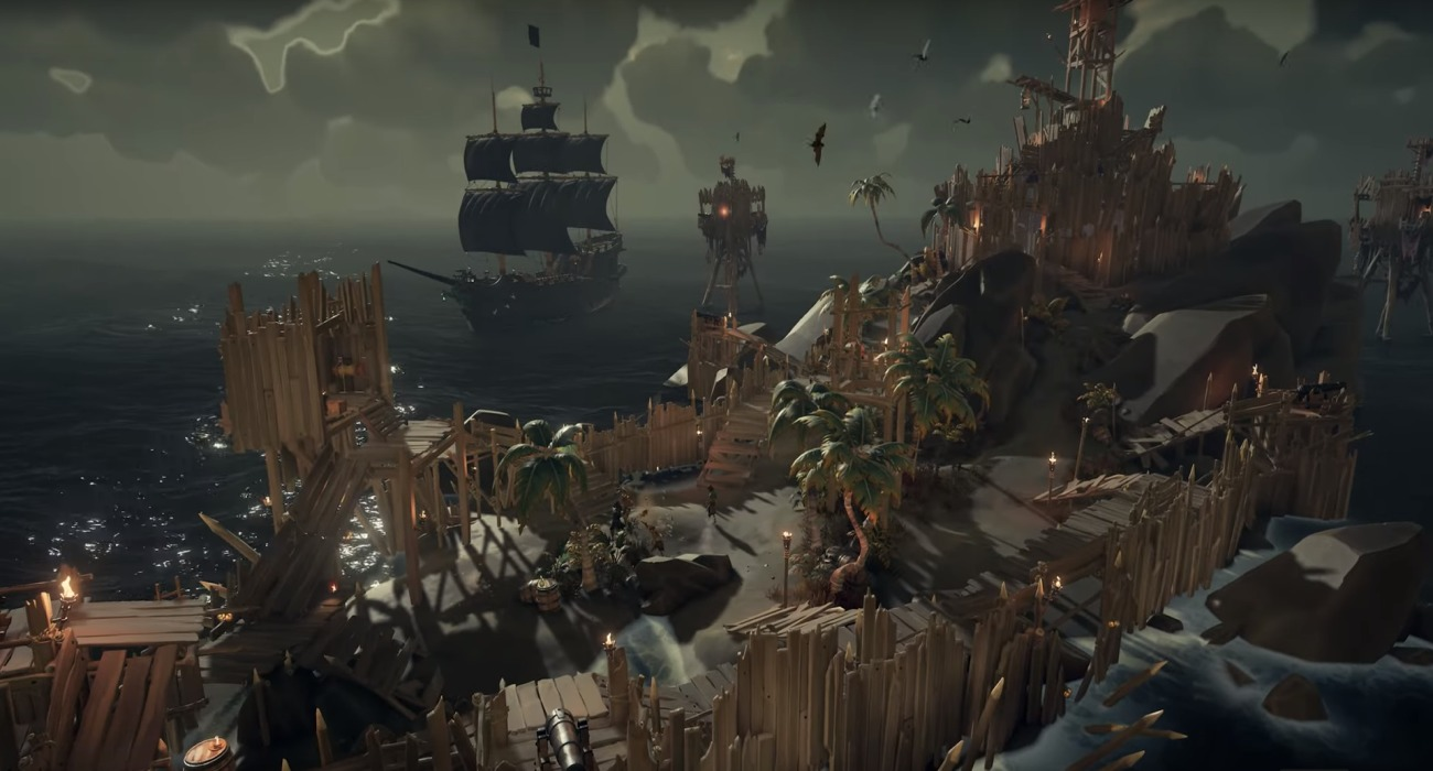 The Black Powder Stashes Content Update Is Now Officially Live For Sea Of Thieves Players