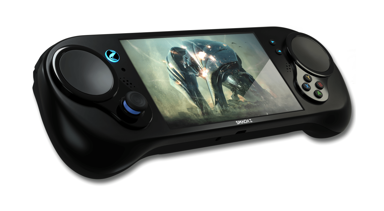 Powerful Handheld Console, Smach Z, Makes A Debut At E3 Despite Long Overdue Release